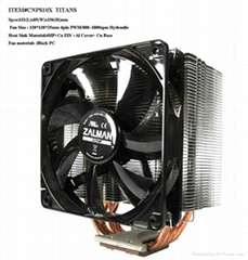 Zalman brand cpu cooler CNPS10X Titans