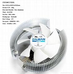 Zalman brand cpu cooler ICE Dragon(SEA-90A-02)