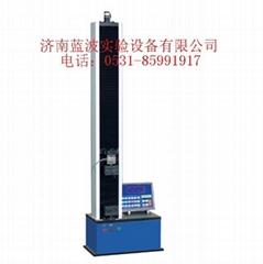 济南蓝波液晶显示防水卷材拉力试验机