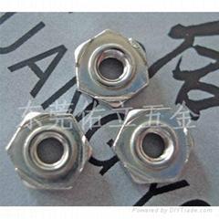 六角焊接螺母M4