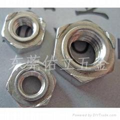 DIN929六角焊接螺母长期供应