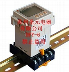 Three phase power protection counter