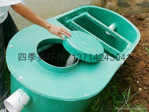 化粪池原理和图纸,化粪池结构图