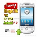 China manufacturer Clone Cheap 3.2 inch Android 2.2 GPS Mobile Phone 007