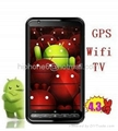 "Copy 4.3"" HD Screen Android 2.2 OS A-GPS TV WIFI Mobile Phone A2000"