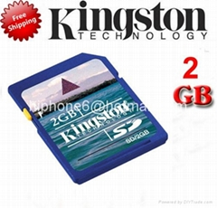 China manufacturer Copy Kingston SD card Memory Card,SDHC Card 1GB-32GB
