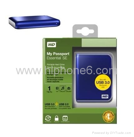 1TB Western Digital External Hard Drive