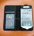 2012 Twelve South BookBook Cowhide Leather Wallet Case Leather Bag For iPhone 5