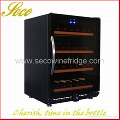 150liter graceful wine refrigerator with Arc handle