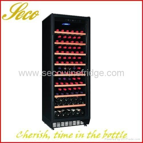 270Liter 80-100 bottles compressor wine cabinet 1