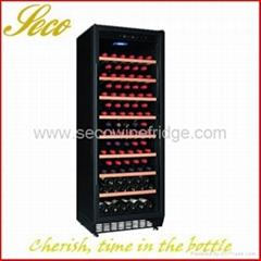 270Liter 80-100 bottles compressor wine cabinet