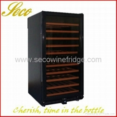 288liter wine cooler with circle cooling system