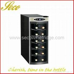 12 bottle wine chiller fridge