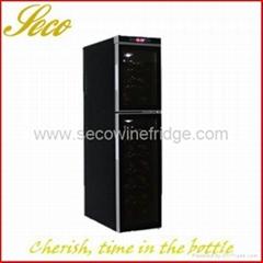 18 bottles electronic wine fridge cellar