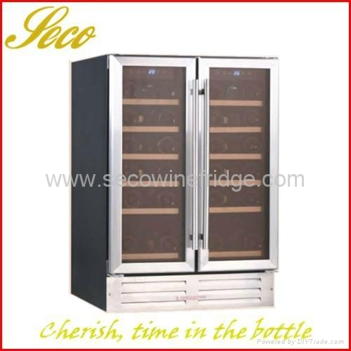 Side by side Built in Wine Cooler cabinet 1