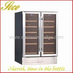 Side by side Built in Wine Cooler cabinet