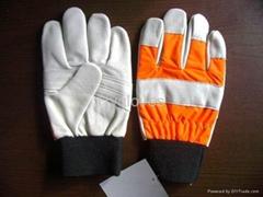 chainsaw glove