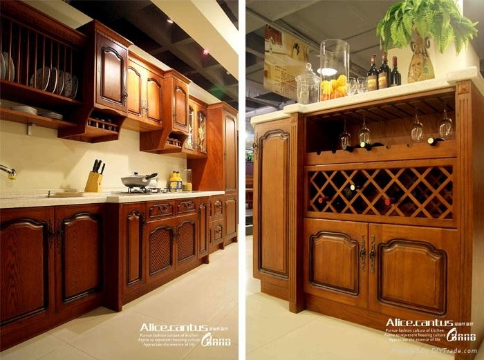 Wooden Kitchen Cabinet High End Top Quality Allwood