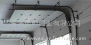 青島工業翻板提升門