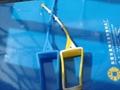 Fashionable silicone hand gel holder