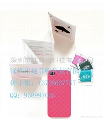 经典时尚 DIY 十字绣 Iphone手机保护套