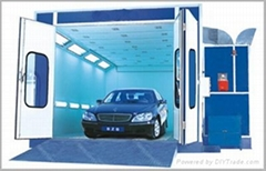 Dry Type Spray Booth