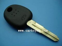 Hyundai key shell