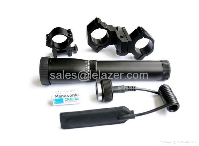 New Long Distance Green Dot Tactical Flashlight Laser Designator 1