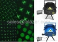 2IN1 Mini Multicolor Moving Party Stage Laser Light Project Light DJ Party Show
