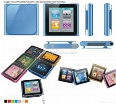 1GB 2GB 4GB 1.8-inch TFT Screen MP4 Player with FM Tune  w/2GB memory