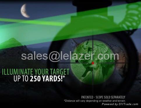 New Long Distance Green Dot Tactical Flashlight Laser Designator 5