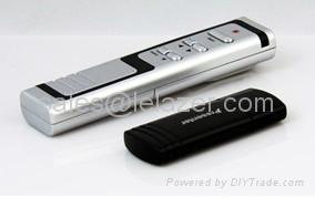 USB Wireless PowerPoint Presenter Laser Pointer 1mW 2