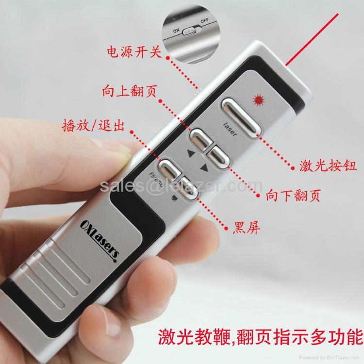 USB Wireless PowerPoint Presenter Laser Pointer 1mW 3