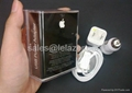 New the iphone 4/3G/3GS Apple mobile phone charger car charger triple