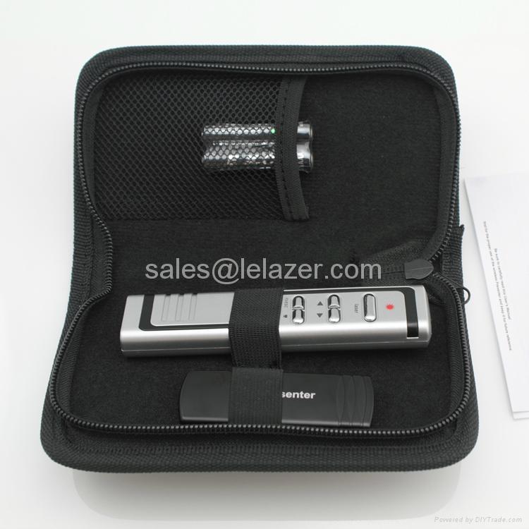 USB Wireless PowerPoint Presenter Laser Pointer 1mW 5