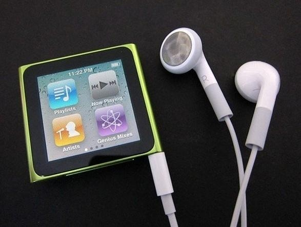 "6th Gen 1.8"" touch screen Clip MP4 Player 1"