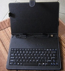 "Leather Case Keyboard for 10"" Tablet pc MID EPAD"