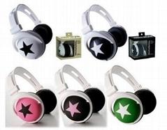 New STAR Stereo Headphone Headset