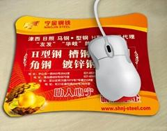 Custom printing mouse pad