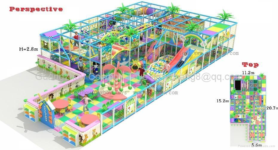 室內遊樂場淘氣堡 1