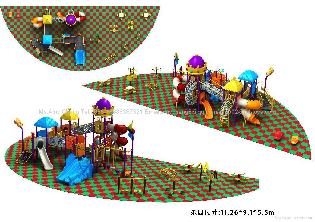 广州市儿童滑梯乐园 5