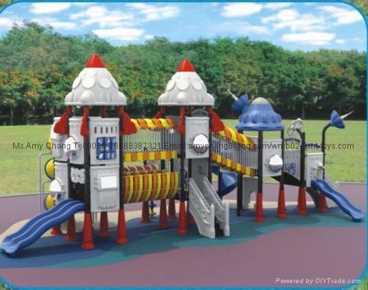 幼儿園樂園滑梯設備 2