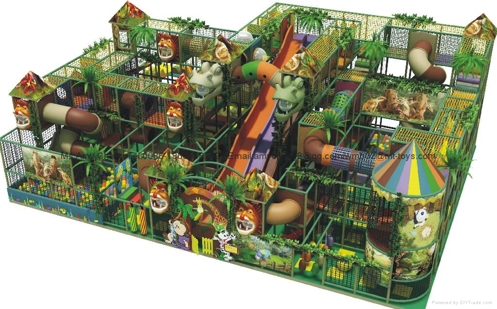 soft playground equipment from Guangzhou Cowboy Toys 1