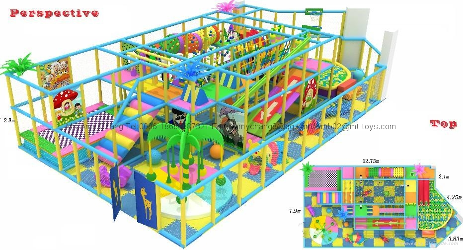 soft playground equipment from Guangzhou Cowboy Toys 4