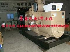 廣州康明斯250kw柴油發電機組全新供應