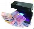 uv lamp money detector