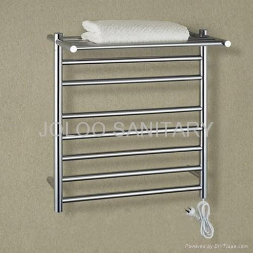 Stainless steel ISO certification electric heating towel rack 1