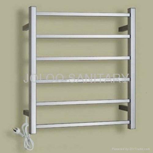 Stainless steel CE certification electric heating towel rack 1