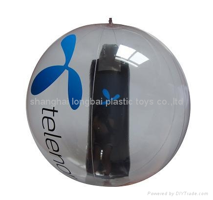 Beach Ball with Bottle Inside 2