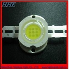 RoHS passed 10w white high power led 1000Lm for underwater lights